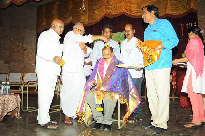 Akkineni Nageswara Rao College-Teachers Day Celebration