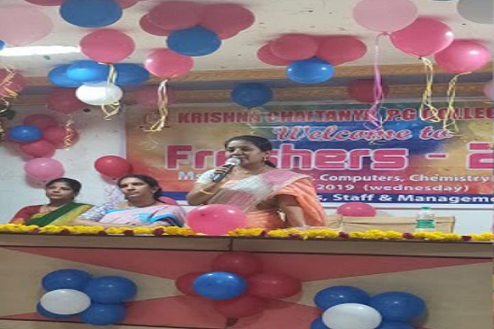 Krishna Chaitanya Junior College-Speech