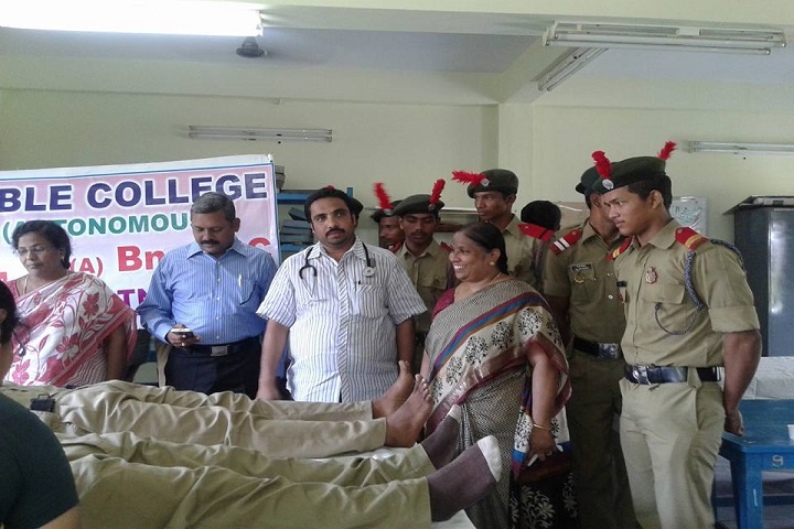 Noble College-Blood Donation Camp