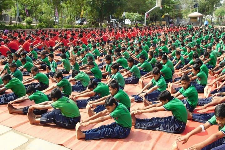 Kendriya Vidyalaya-Yoga1