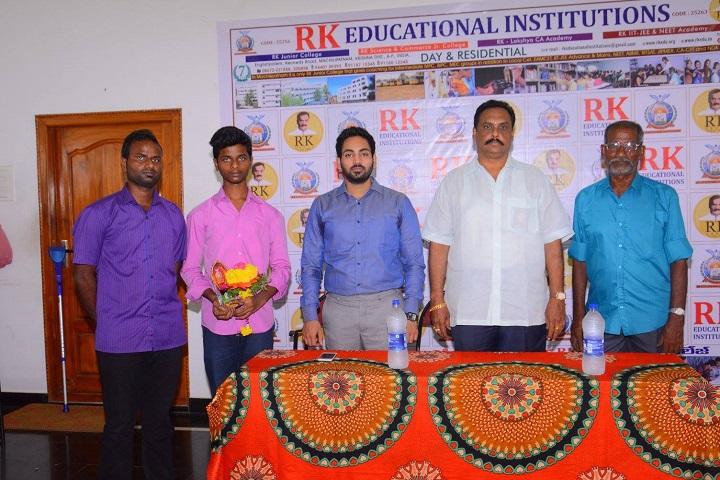 R K Junior College-Press Meet