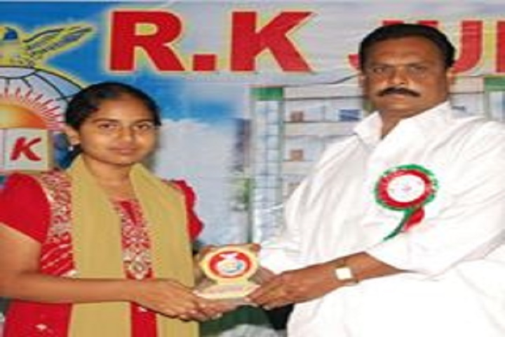 R K Junior College-Prize