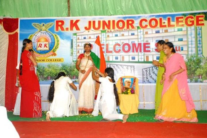 R K Junior College-Skit