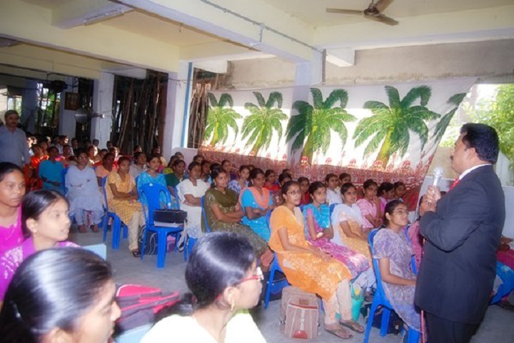 R K Junior College-Students Meeting