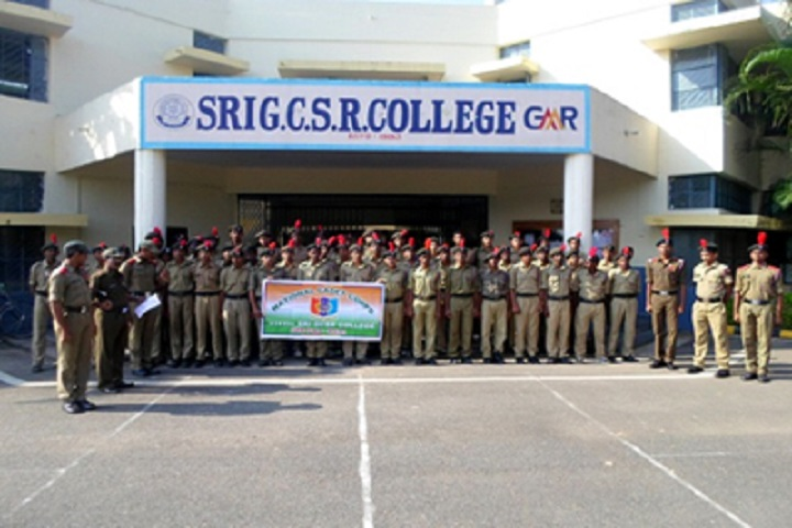 Sri Grandhi China Sanyasi Raju College-NCC Team