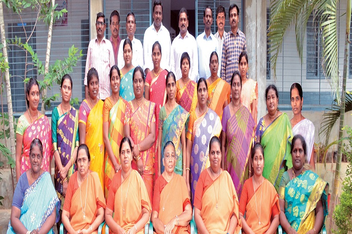 JMJ Junior College for Girls-Staff Group Photo