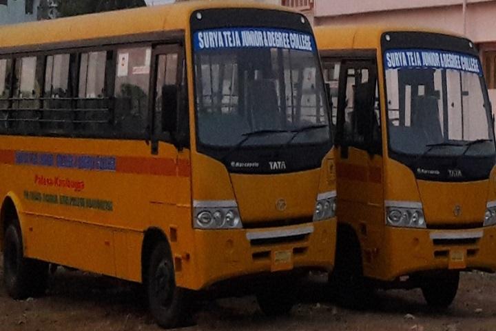 Surya Teja College-Bus