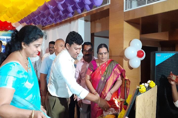 Surya Teja College-Lighting The Lamp