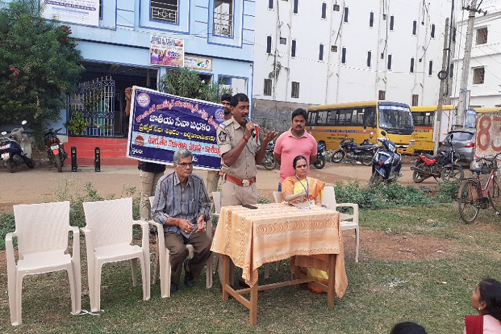 Surya Teja College-Speech