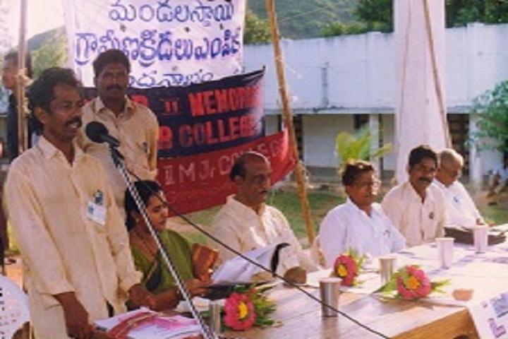 Maharaja Vijaya Rama Rajuii Memorial Junior College-Speech