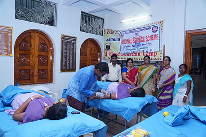 St Theresas College-Blood Donation Camp
