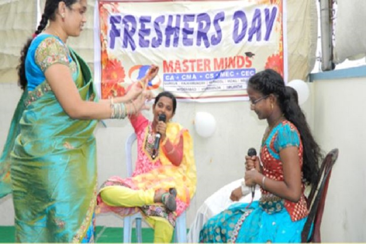 Master Minds Junior College - Freshers day