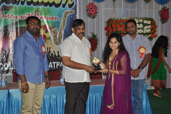 Sri Gayatri Junior college-Award Ceremony