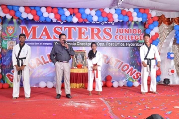 Masters Junior College-Karate