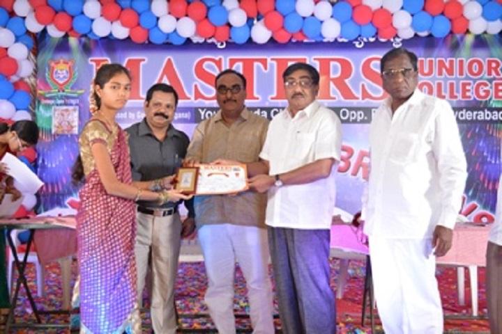 Masters Junior College-Prize