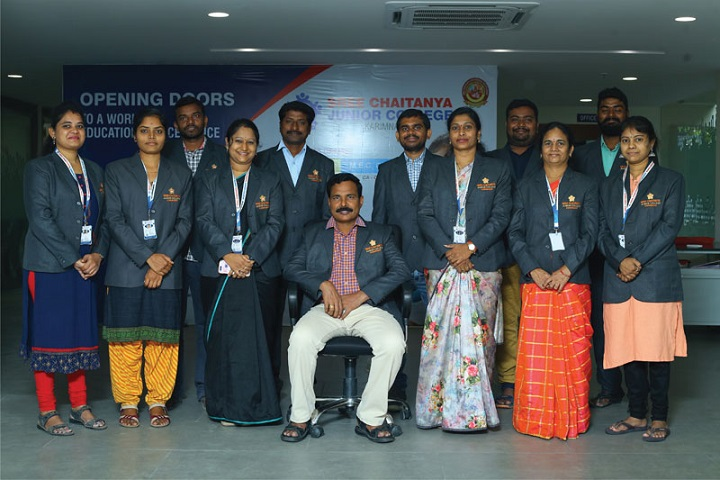 Sree Chaitanya Junior College-Staff Group Photo