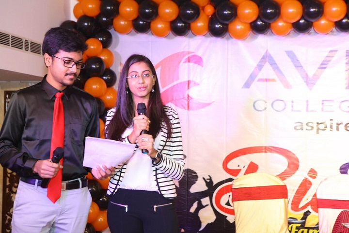 Avinash College of Commerce-Students Speech