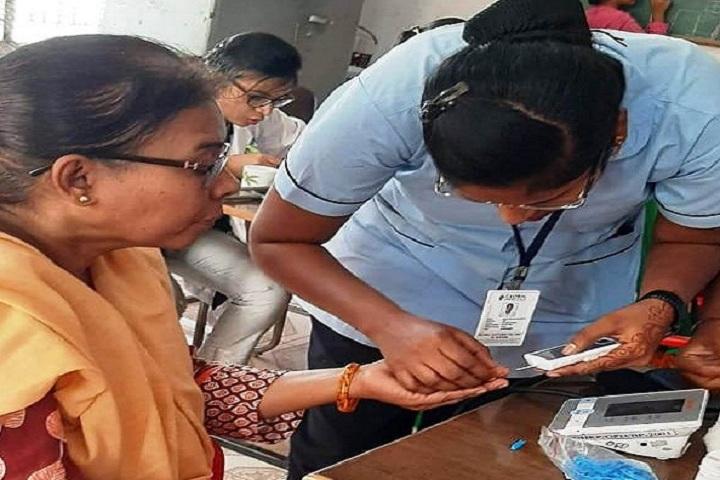 Pragathi Junior College-Health Check Up