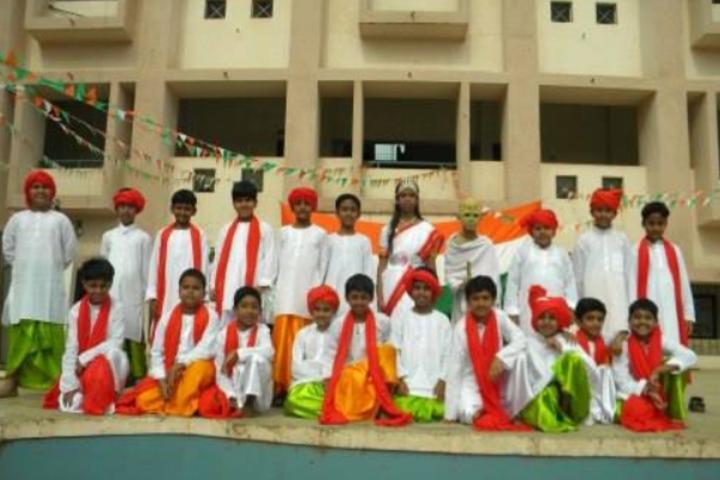 Krishna Public School - Independence Day Celebration