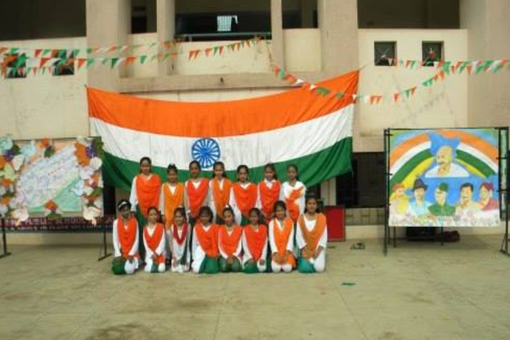 Krishna Public School-National Day celebration