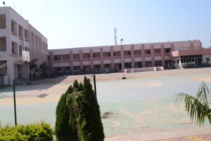 Krishna Public School- School Building View