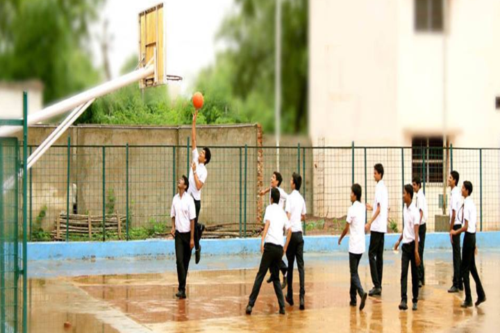 Krishna Public School- Volleyball Area