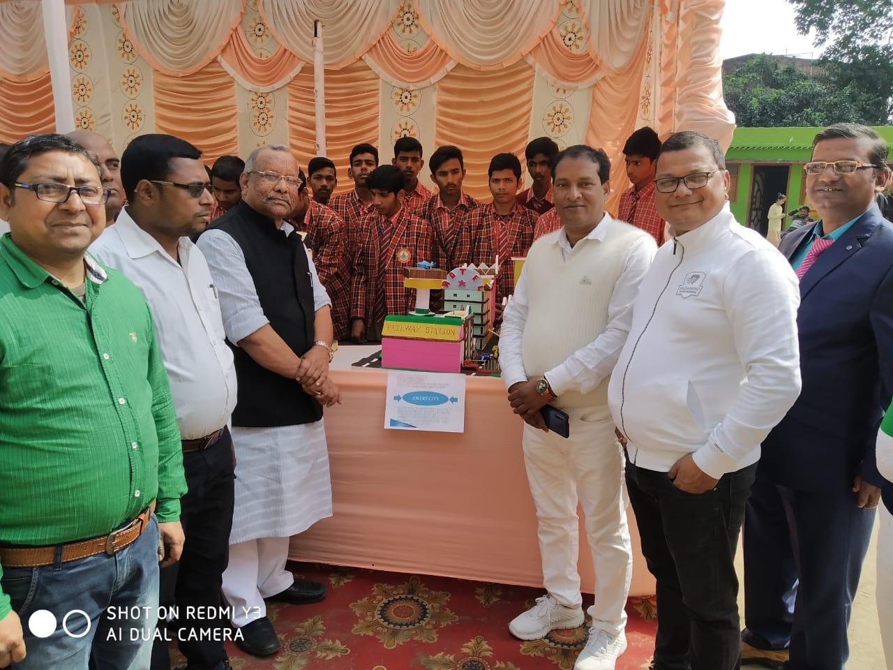 Jai Mala Shiksha Niketan: Science exhibition