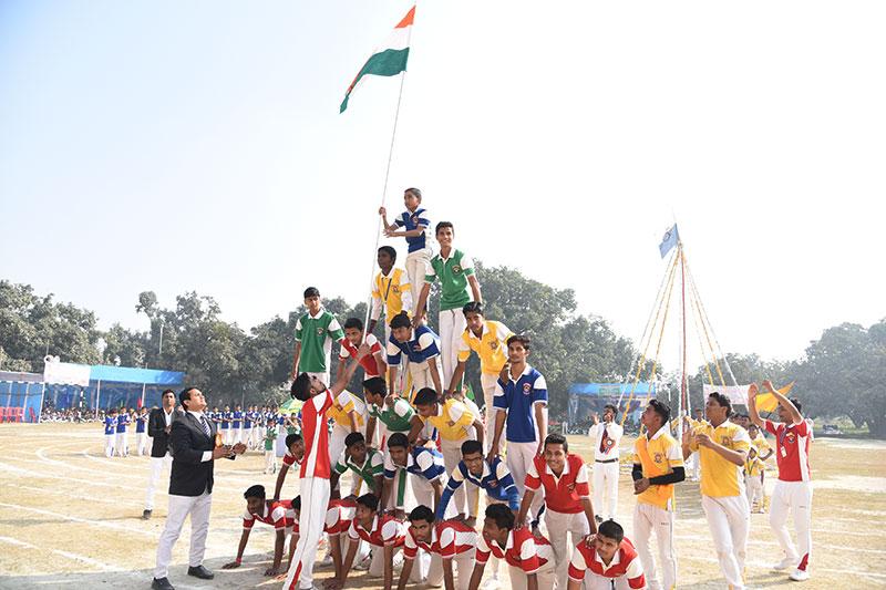 Alok Bharati Shikshan Sansthan: sports meet