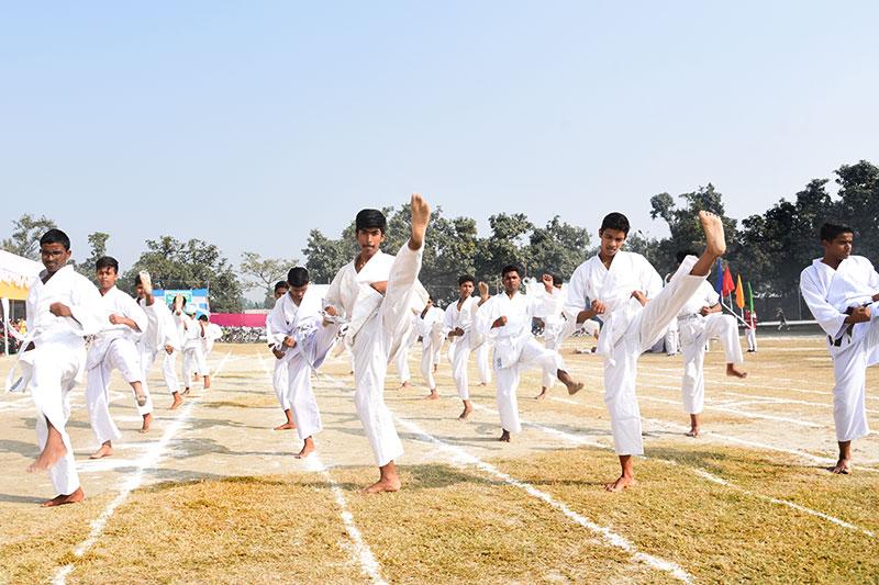 Alok Bharati Shikshan Sansthan: Sports