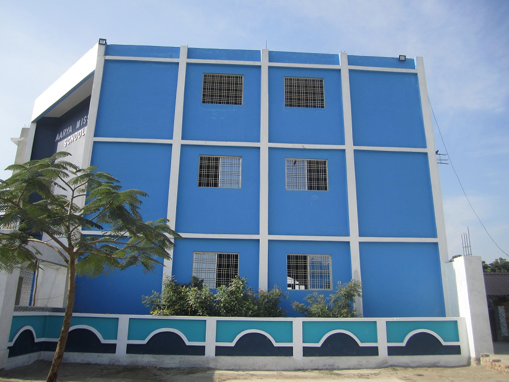 Aarya Mission School: Infrastructure