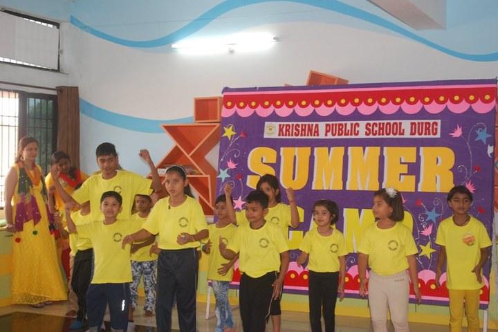 Krishna Public School-Summer Camp