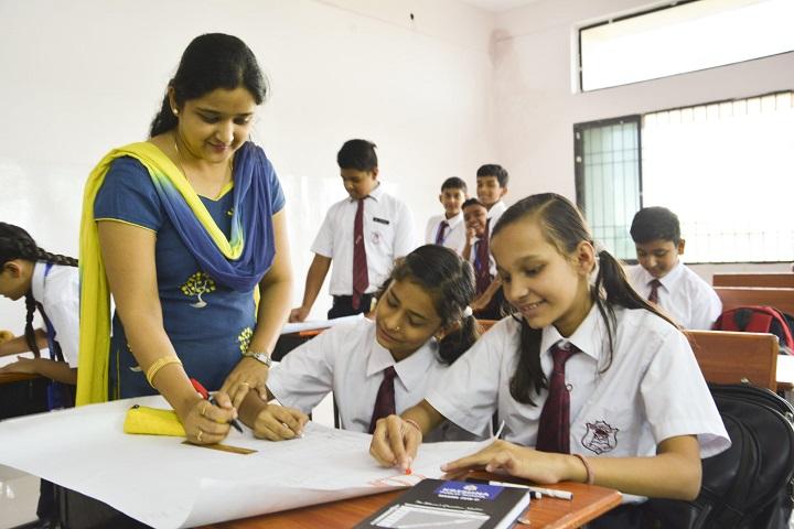 Krishna Public School-Drawing Competition