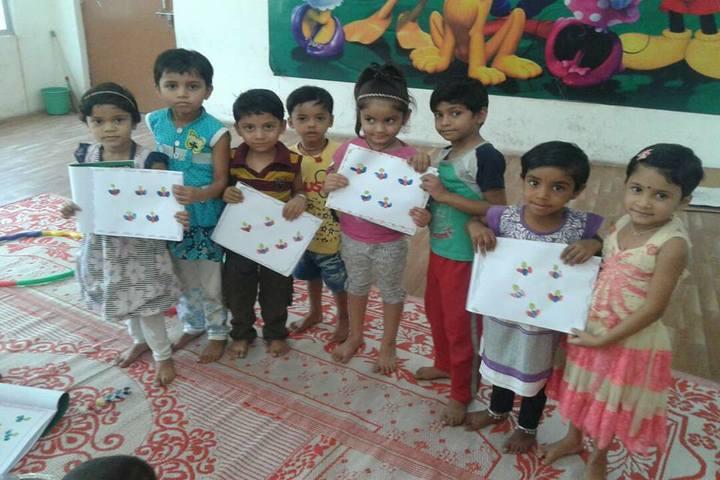 L.B.S. Global Public School - Art and Craft Activity