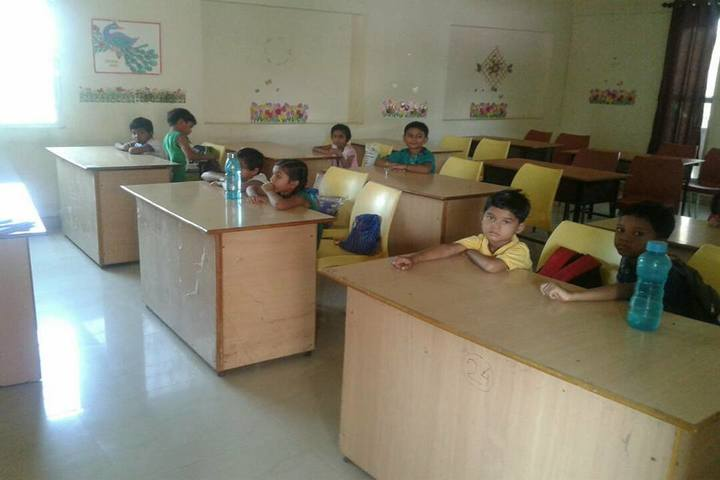 L.B.S. Global Public School - Classroom View