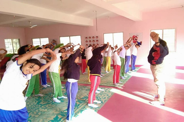 L.B.S. Global Public School - Yoga Activity