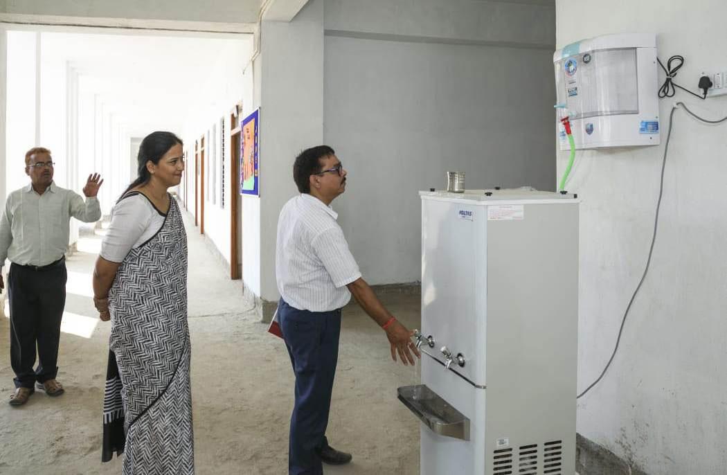 Indian Public School, Ajmatpur, Bidupur-Drinking water