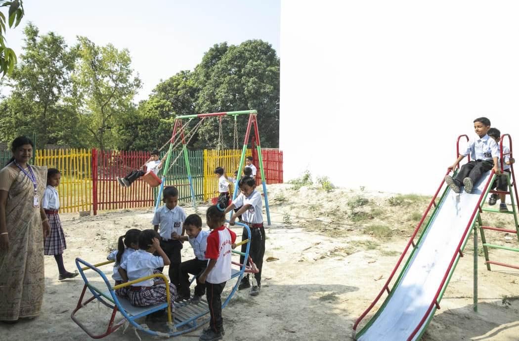 Indian Public School, Ajmatpur, Bidupur-Playground