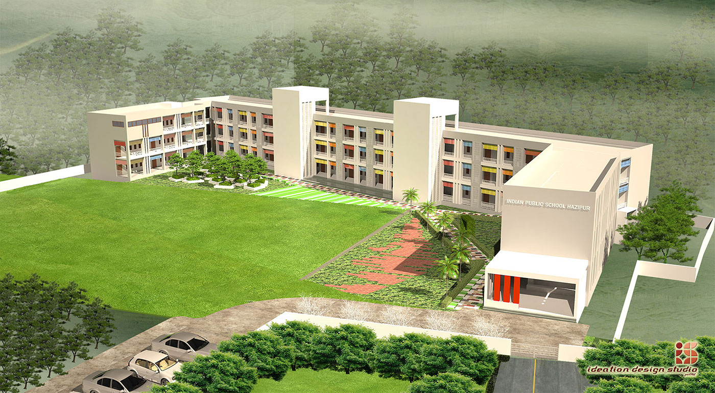Indian Public School, Ajmatpur, Bidupur-School Building