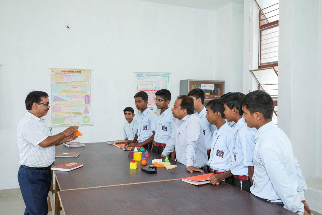 Indian Public School, Ajmatpur, Bidupur-maths lab