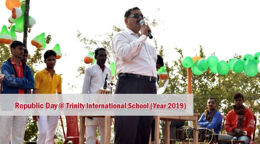 Trinity International School-Republic day celebrations
