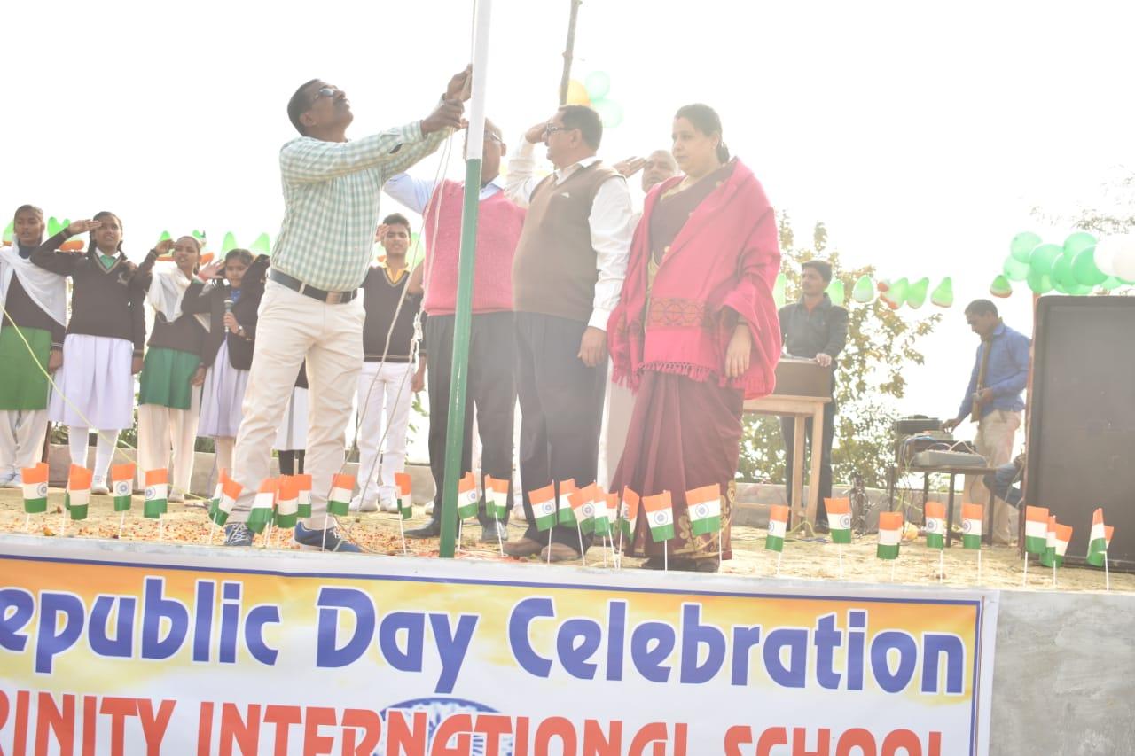 Trinity International School-Republic day