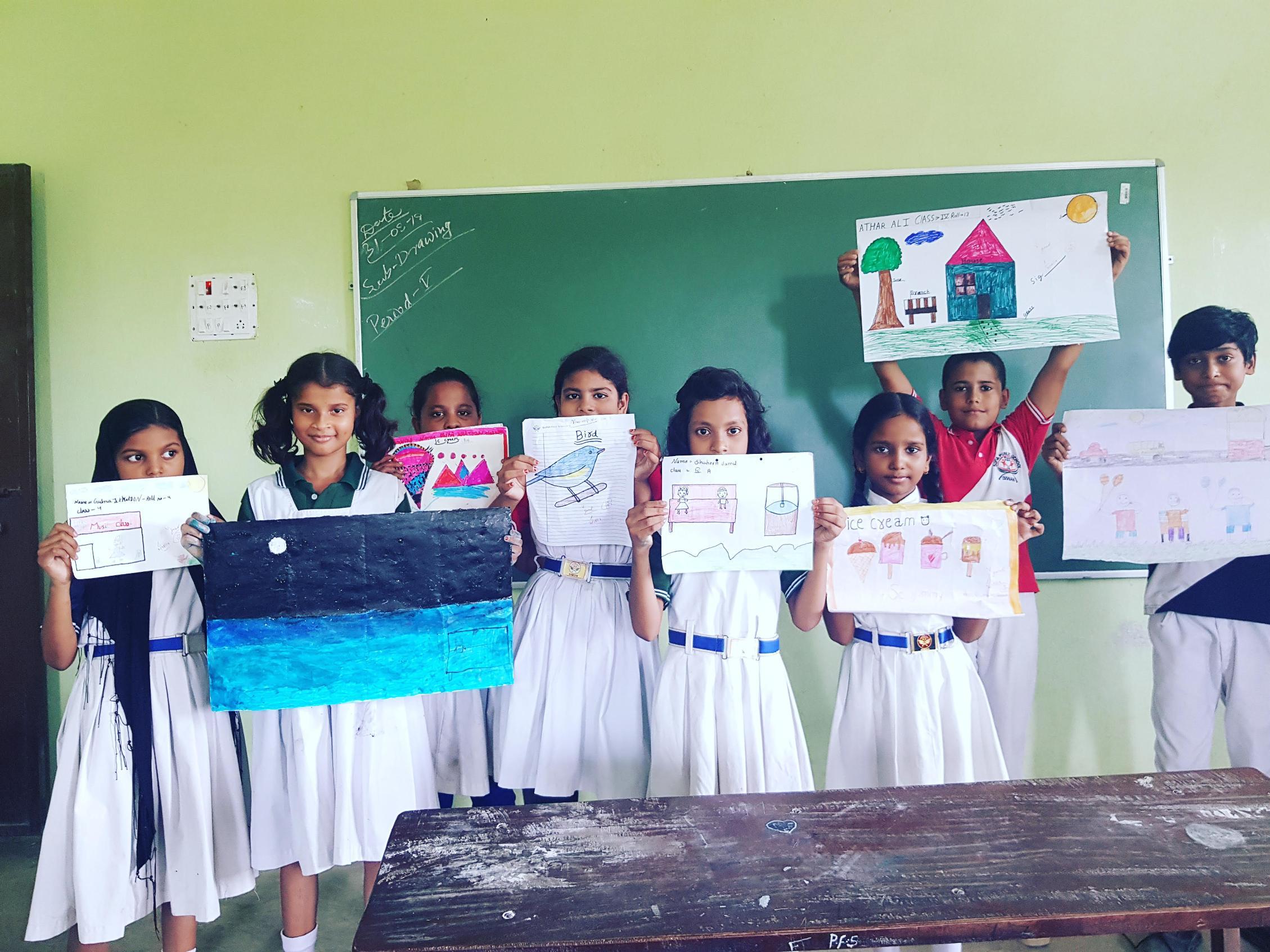 Sufia Public School-Arts and crafts