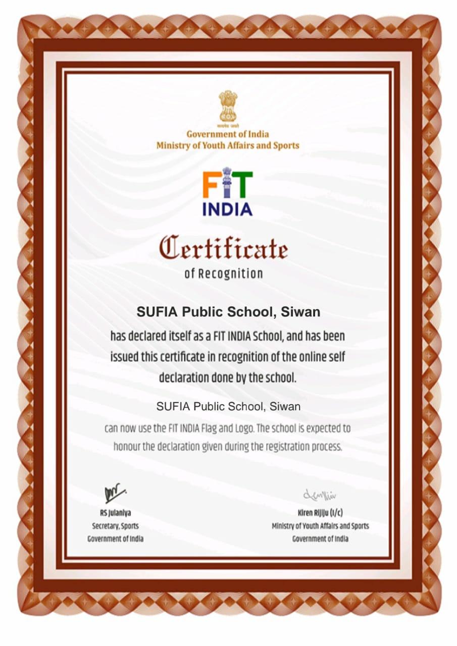 Sufia Public School-certificates