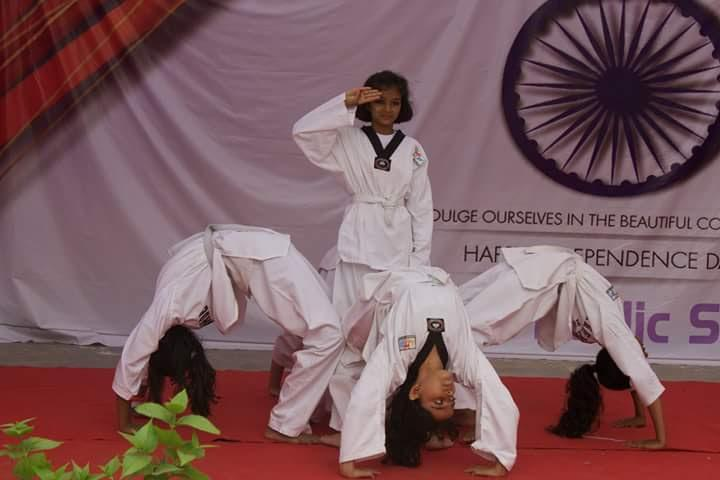 Sufia Public School-independence day