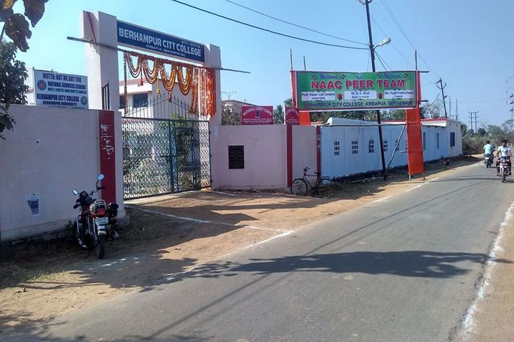 Berhampur City College-Campus Entrance