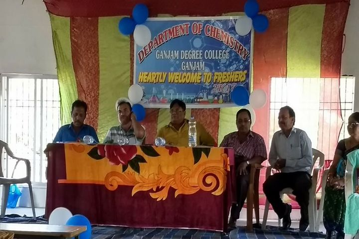 Ganjam College-Freshers Day