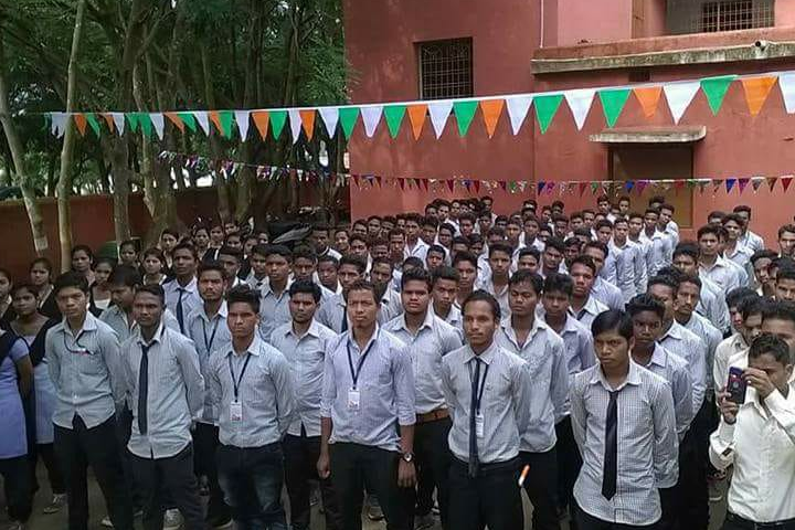 Semiliguda College - Morning Assembly