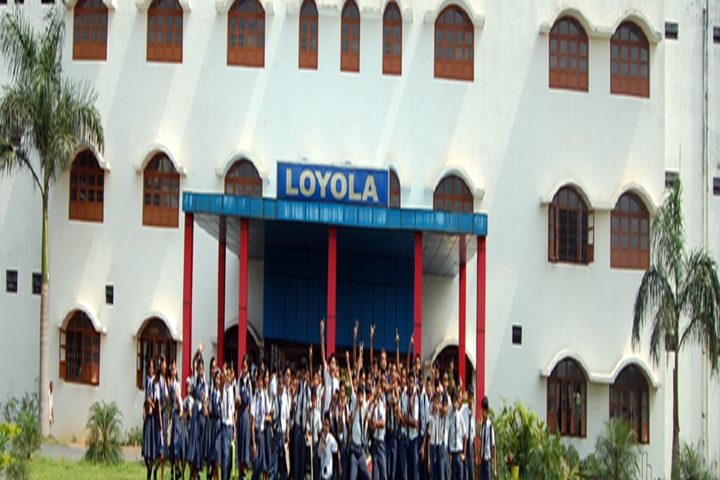Loyola School Bilaspur-building