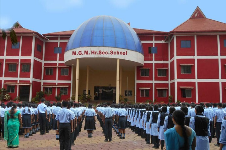 M G M Higher Secondary School-Assembly