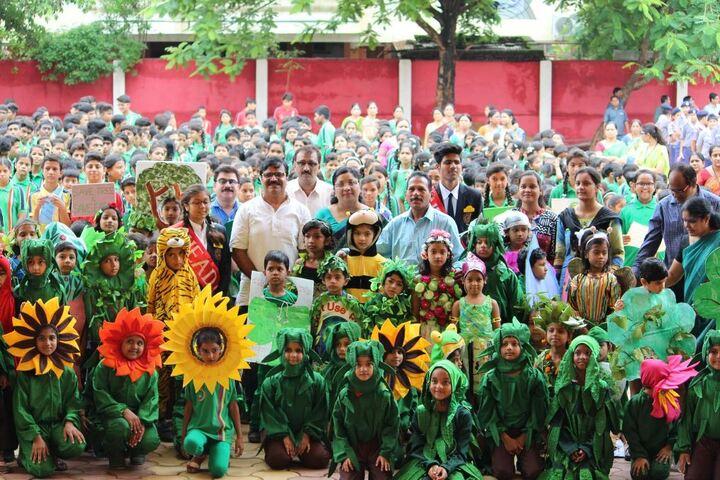 M G M Higher Secondary School-Tree Plantation